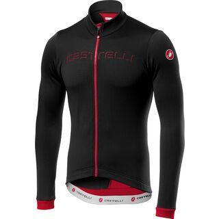 Castelli Fondo Jersey FZ, black red - Radtrikot