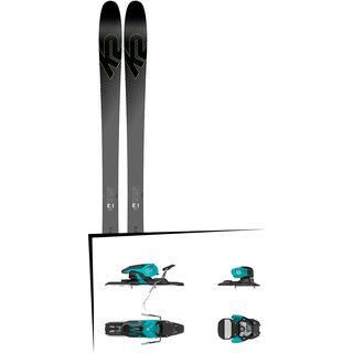 Set: K2 SKI Pinnacle 95Ti 2019 + Salomon Warden 11 turquoise/black