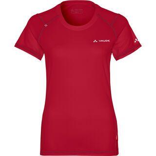 Vaude Womens Hallett Shirt, indian red - Radtrikot