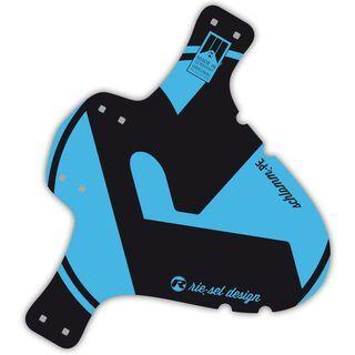 Riesel Design schlammPE, blue - Schutzblech
