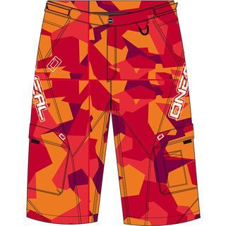 ONeal Slickrock Shorts Camouflage, red - Radhose
