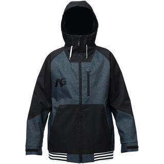 Analog Greed Jacket, indigo denim/true black - Snowboardjacke