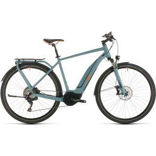 Cube Touring Hybrid EXC 2020, blue´n´orange - E-Bike
