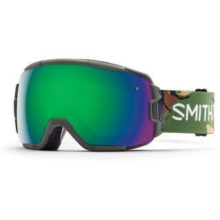 Smith Vice, disruption/green sol-x mirror - Skibrille