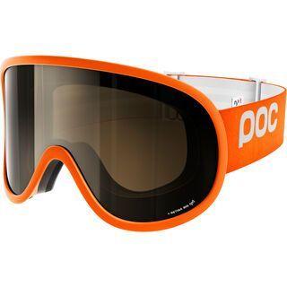 POC Retina Big NXT Photo, orange/Lens: bronze photo silver mirror - Skibrille