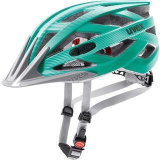 uvex i-vo cc, green-teal mat - Fahrradhelm