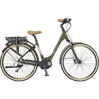 Scott E-Sub Active Unisex 2017, dark green - E-Bike