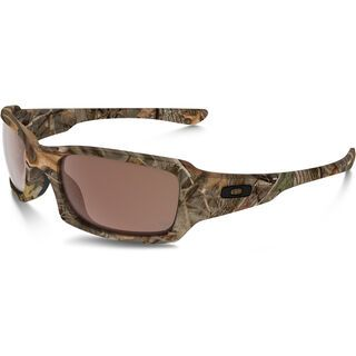 Oakley Fives Squared, woodland camouflage/Lens: vr28 black iridium - Sonnenbrille