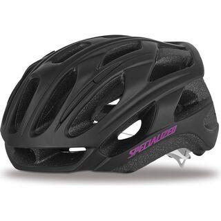 Specialized Women's Propero II, Matte Black/Pink - Fahrradhelm