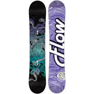 Flow Venus Black, black - Snowboard