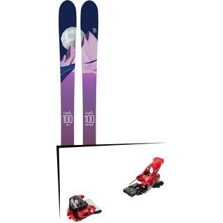 Set: Icelantic Oracle 100 2018 + Tyrolia Attack² 18 X GW red