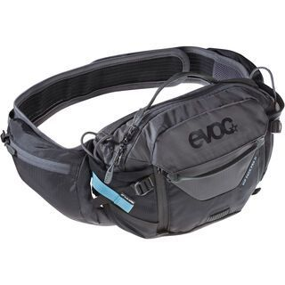 Evoc Hip Pack Pro 3l + Hydration Bladder 1,5l, black/carbon grey - Hüfttasche