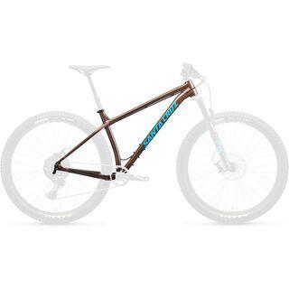 Santa Cruz Chameleon AL Frameset 27.5 Plus 2020, bronze/blue
