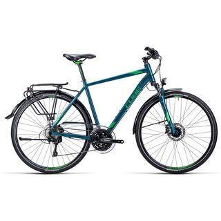 Cube Touring SL 2015, darkgreen green - Trekkingrad