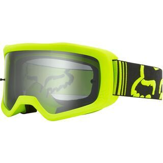 Fox Main Race Goggle, fluo yellow/Lens: clear - MX Brille
