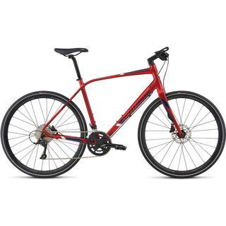 Specialized Sirrus Elite 2017, red/navy/blue - Fitnessbike