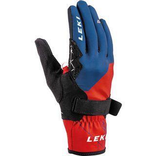 Leki Tour Guide V Glove, rot-blau - Skihandschuhe