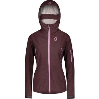Scott Explorair 3L Women's Jacket, red fudge - Skijacke