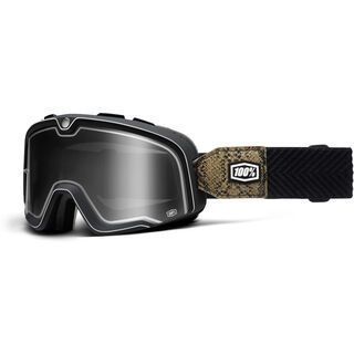 100% Barstow Classic, snake river/Lens: smoke mirror - MX Brille