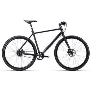 Cube Editor 2015, black flashred shinyblack - Urbanbike