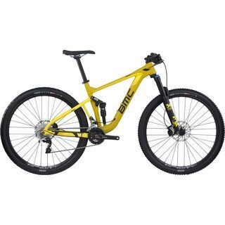 BMC Speedfox 02 SLX/XT 2017, yellow - Mountainbike