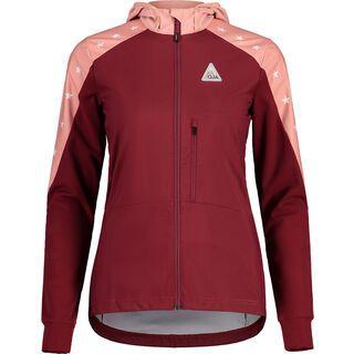 Maloja NeshaM. Jacket, red monk - Softshelljacke