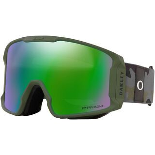Oakley Line Miner XL Prizm, dark brush grey camo/Lens: jade iridium - Skibrille