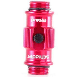 Lezyne ABS Flip Thread Chuck HV, red - Ersatzteil