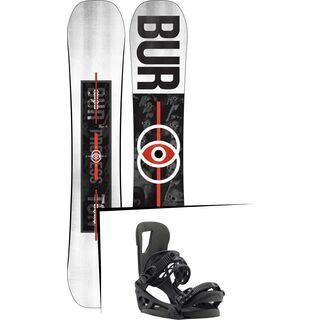 Set: Burton Process Flying V 2019 + Burton Cartel EST black matte