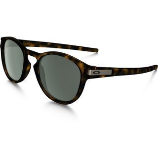 Oakley Latch, brown tortoise/Lens: dark grey - Sonnenbrille