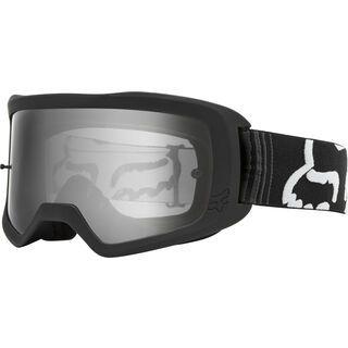 Fox Youth Main Race Goggle, black/Lens: clear - MX Brille