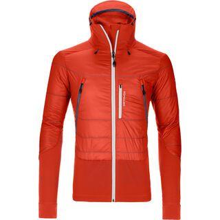 Ortovox Swisswool Piz Palü Jacket M, crazy orange - Thermojacke