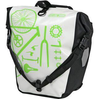 Ortlieb Back-Roller Design Parts, weiß-schwarz - Fahrradtasche