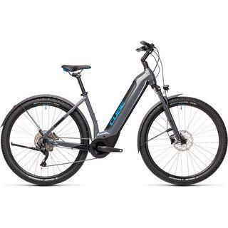 Cube Nuride Hybrid Pro Allroad 500 2021, grey´n´blue - E-Bike