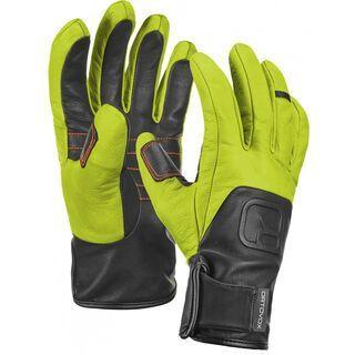 Ortovox Merino Glove Pro Leather, happy green - Skihandschuhe