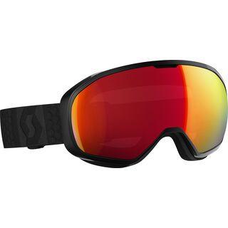 Scott Fix, black/Lens: amplifier red chrome - Skibrille