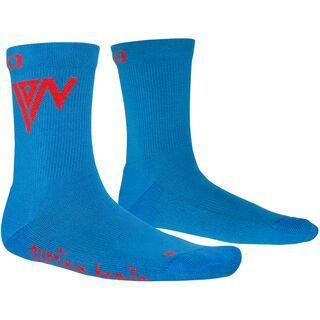 ION Socks Mid Pole, stream blue - Radsocken