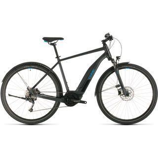 *** 2. Wahl *** Cube Nature Hybrid ONE Allroad 500 2020, iridium´n´blue - E-Bike | Größe 58 cm