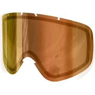 POC Iris 3P NXT Photo Wechselscheibe, brown red mirror