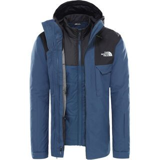The North Face Mens Fourbarrel Zip-In Triclimate Jacket, blue/tnf black - Skijacke