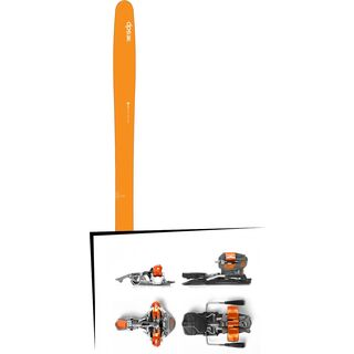 Set: DPS Skis Wailer 99 2016 + G3 Ion 10 (1716207)