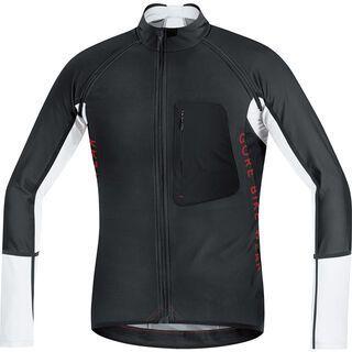 Gore Bike Wear Alp-X Pro Windstopper SO Zip-Off Trikot, black white - Radtrikot
