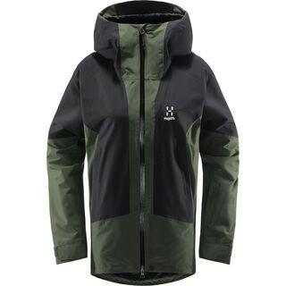 Haglöfs Lumi Jacket Women, fjell green/true black - Skijacke