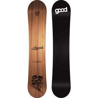 goodboards Legends Camber Wide 2020, kirsche - Snowboard