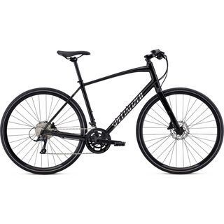 *** 2. Wahl *** Specialized Men's Sirrus Sport 2020, black/chrome - Fitnessbike | Größe XL // 53.3 cm
