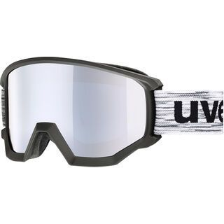 uvex athletic FM, black mat/Lens: mirror silver - Skibrille