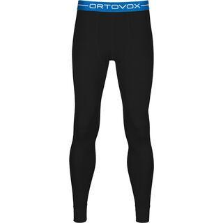 Ortovox 210 Merino Supersoft Long Pants M, black raven - Unterhose