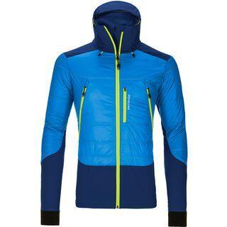 Ortovox Merino Swisswool Jacket Piz Palü, blue ocean - Thermojacke