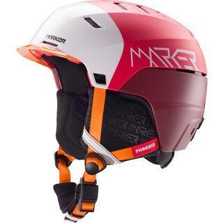 Marker Phoenix OTIS, orange/red - Skihelm