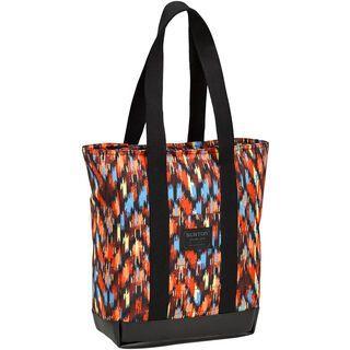 Burton Catherine Tote, ikat stripe canvas - Shopper